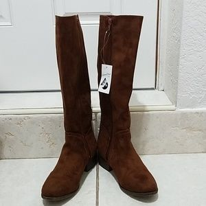 Shoes - Universal Thread Brown Riding Boots size 8